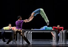 "Ballet de l'Opéra de Lyon ""One Flat Thing, reproduced"", William (...)"