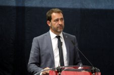 Christophe Castaner prend les rênes de la République en marche (Photo Robert (...)