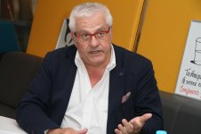 Paul Chaffard, membre de la Commission International Paca (Photo Robert (...)