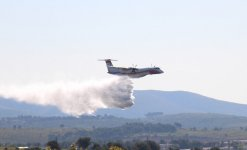 Crash d'un bombardier d'eau dans le Gard (Photo illustration (...)